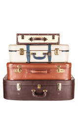 Vier Reisekoffer