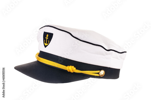 Leinwanddruck Bild Kapitänsmütze