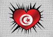 Tunisia Flag themes idea design