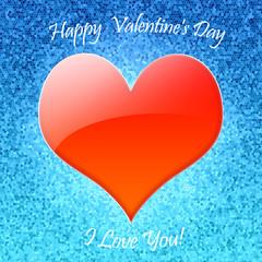 Открытка День Св. Валентина