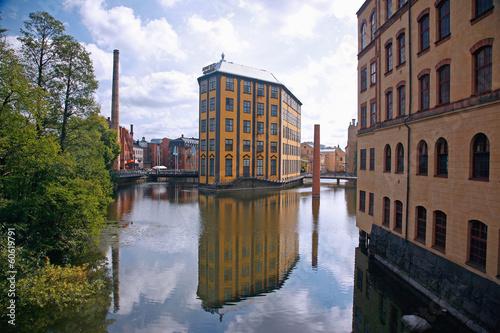 Staande foto Scandinavië Schweden, Norrköping, Arbetedsmuseum