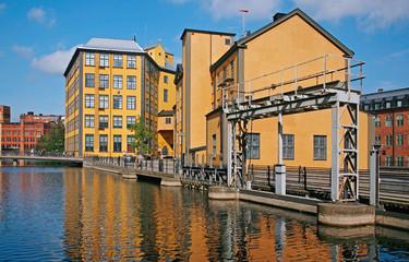 Schweden, Norrköping, Arbetedsmuseum