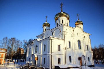 Сhurch of St Athanasius and Theodosius of Cherepovets, winter