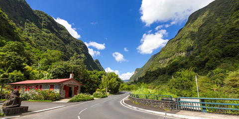 Road to Salazie, La Réunion