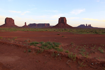 monument Valley à l'aube, Arizona