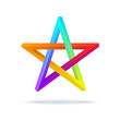 Colorful Inconceivable Pentagram.
