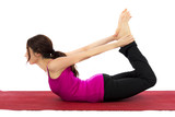 Strengthening and Stretching in Yoga poster