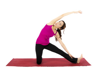 Gate Pose in Yoga