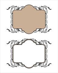 decorative frame pattern