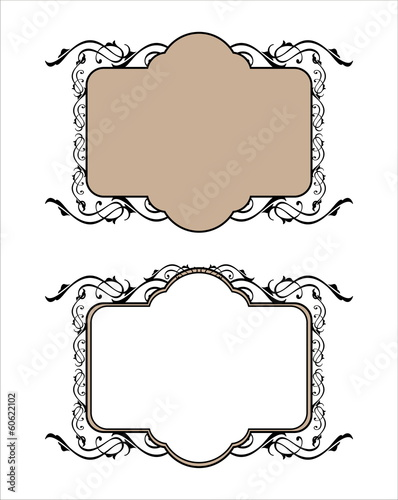 decorative frame pattern