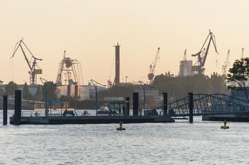 Skyline Hamburg Hafen