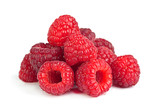 Raspberry ripe fruit