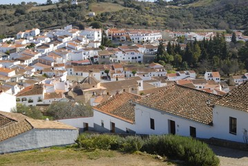 The village of Aracena, Andalusia, Spain