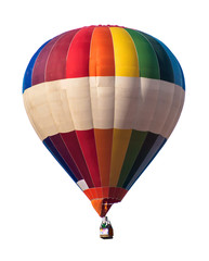 Multicolored Balloon white isolated
