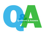"""Q&A"" Letter Collage (questions and answers information help)"
