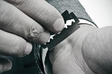 wrist cutting