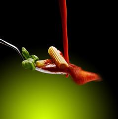 pasta al sugo rosso