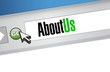 about us browser illustration design