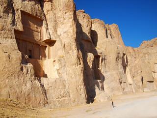 Naqsh-e Rustam, Tomb of Persian Kings in Fars province, Iran