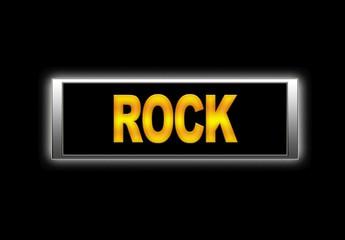 Rock.