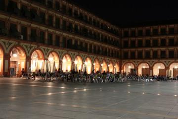 Plaza de la Corredera de Córdoba (nocturno)