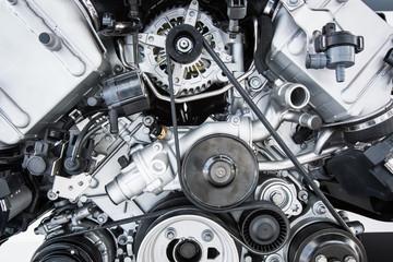 Car Engine - Modern powerful car engine