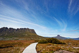 The stunning Cradle Mountain and Barnes Bluff
