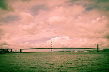 The Forth and Road Bridge
