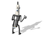 Cartoon Spark plug