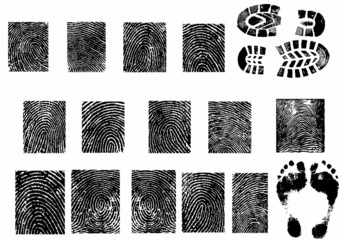 Finger-print-set