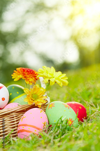 Eggs and flowers c