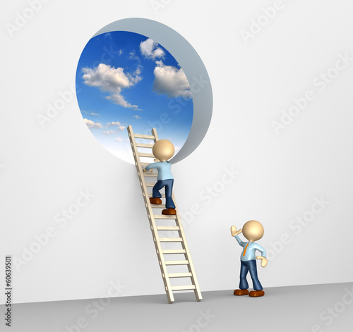 The ladder to sky