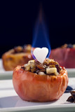 Burning Heart - Baked apples