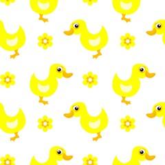 Ducks Childich Seamless PAttern