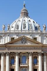 Vatican basilica facade