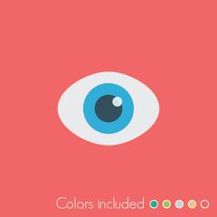 Eye - FLAT UI ICON COLLECTION