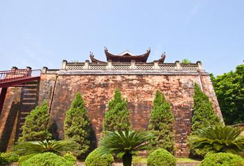 North Gate (1805) of Imperial Citadel in Hanoi, Vietnam