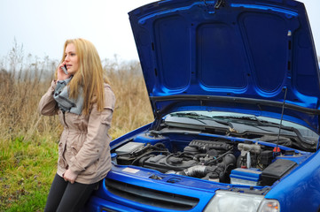 Defektes Auto