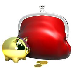 purse & moneybox