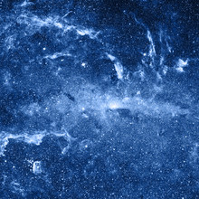 Profonde fond de l'espace