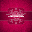 valentines day greeting card  with  hearts and wishes text,  vec