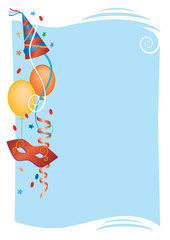 Carnival Party Invitation Background