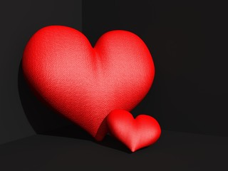 Groot en klein hart