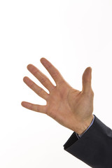 Hand for five