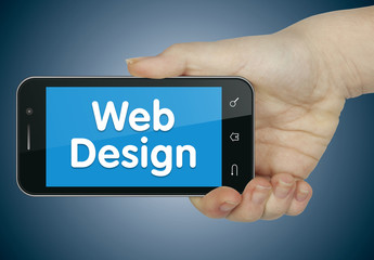 Web design. Phone