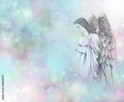 Guardian Angel on Bokeh background © Nikki Zalewski