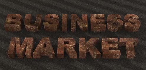 Text business finance  metal texture