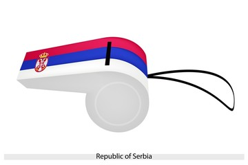 A Whistle of The Republic of Serbia