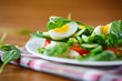 summer salad with egg