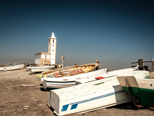 abandon  church and boats